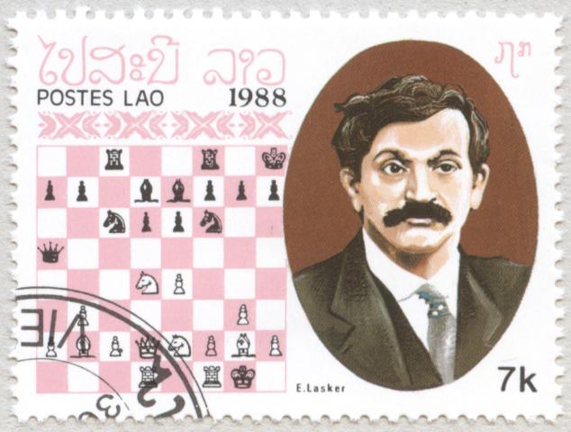 Emanuel Lasker. Laos 1988.