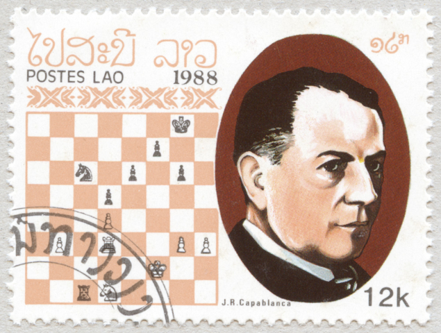 Jose Raul Capablanca. Laos 1988.