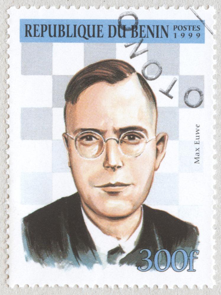 Max Euwe. República de Benín 1999.