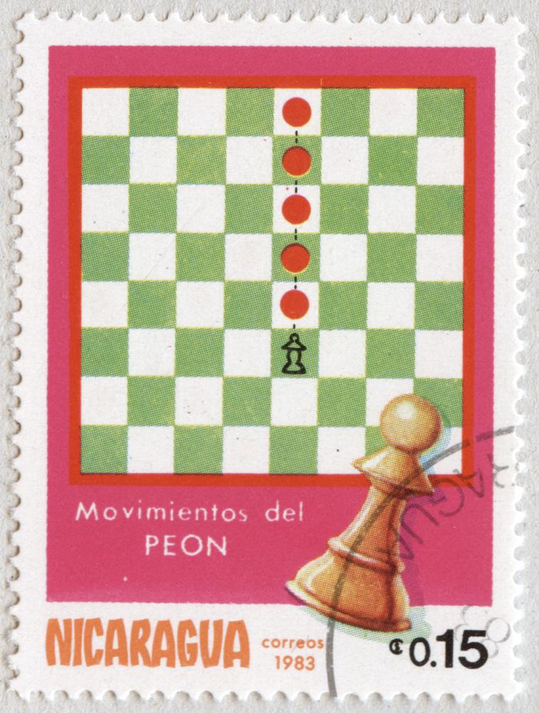 Movimiento del Peón. Correos 1983. Nicaragua.