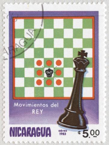 Movimiento del Rey. Aéreo 1983. Nicaragua.