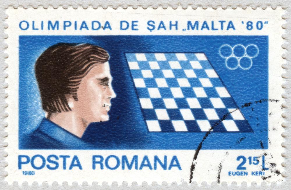Olimpiada de Sah Malta '80. Romania 1980.