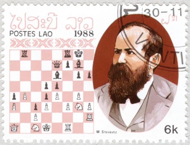 Wilhelm Steinitz. Laos 1988.
