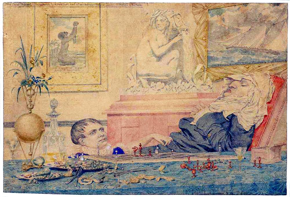 El problema del niño. Richard Dadd. 1857.