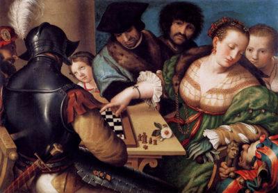 El ajedrez en el arte, en ilustraciones y en la historia