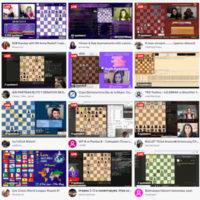 Transmisiones video en vivo de partidas de ajedrez