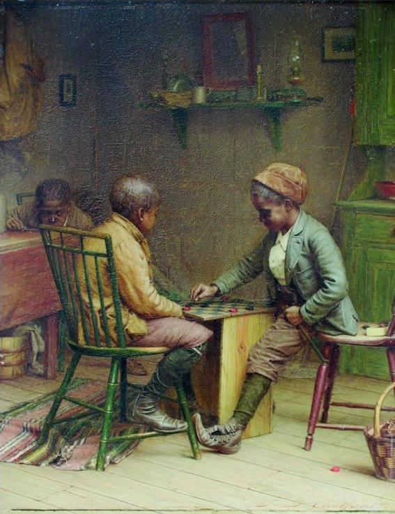 El campeón visitante - Jefferson David Chalfant - 1895