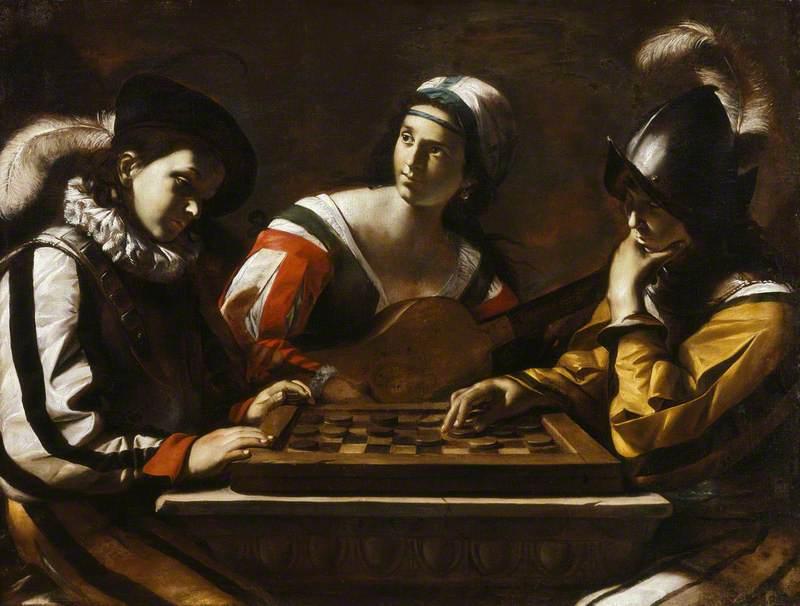 Juego de Damas - Mattia Preti - 1635 circa