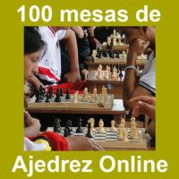 100 Mesas de Ajedrez Online