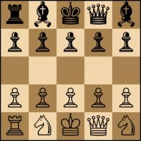 Ajedrez 5×5 Alfiles contra Caballos