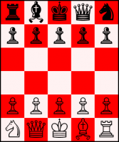 Ajedrez 5×6 Rey al centro