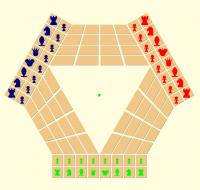 Juego de Ajedrez para tres jugadores