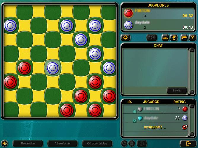 Damas Multiplayer En Linea