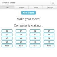 Juego de ajedrez a ciegas