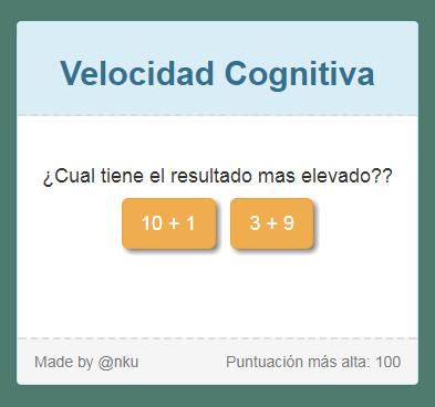 Velocidad Cognitiva