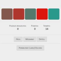 Orden gradiente de colores