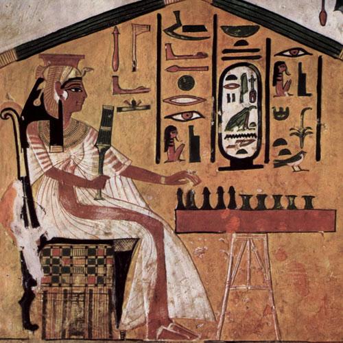Senet, el más antiguo juego de mesa.